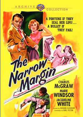 The Narrow Margin [New DVD] Manufactured On Demand, Mono Sound