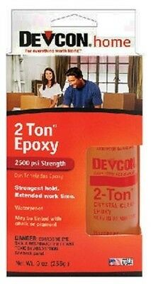 Devcon 33345 8.5 oz. 2 Ton Weld Epoxy, Clear