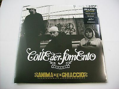 Colle Der Fomento - Anima E Ghiaccio - 2Lp Vinyl Reissue Sealed Numbered #0360
