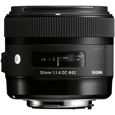 Sigma 30mm F1.4 DC HSM 'A' Lens - Canon Fit