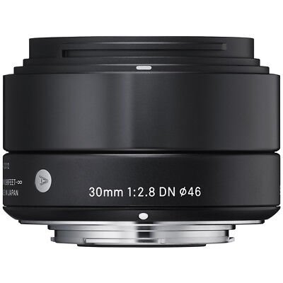 Sigma 30mm F2.8 DN 'A' Lens - Sony E Fit in Black