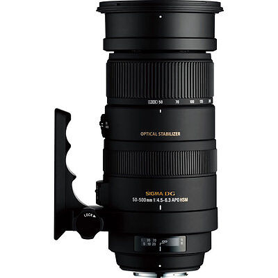 Sigma 50-500mm F4.5-6.3 DG OS HSM Lens - Sony Fit