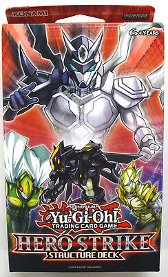 Yu-gi-oh! Yugioh Hero Strike English Structure Deck First Edition - New in box