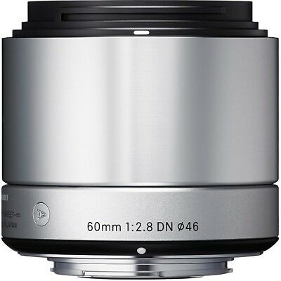 Sigma 60mm F2.8 DN 'A' Lens - Sony E Fit in Silver