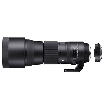 Sigma 150-600mm F5-6.3 DG HSM OS 'C' Lens Canon Fit and Converter