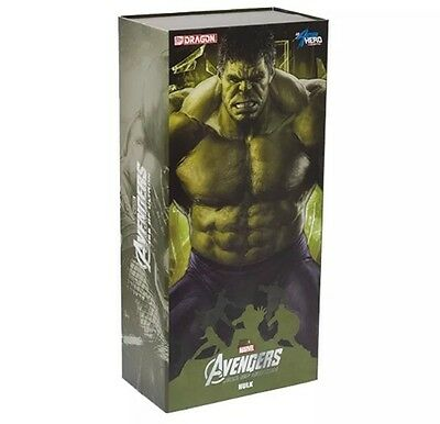 Avengers Age of Ultron Hulk Figure 1:9 Dragon Action Hero Vignette - Official
