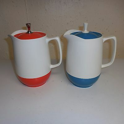 Vintage Set of 2 - Thermos Insulated Ware Pitcher  #G2-40