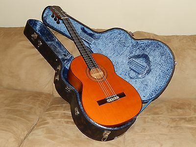 Made By Kazuo Yairi In 1968 Ultra Rare Flamenco Concert Guitar With Ebony Pegs