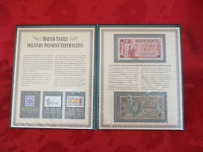 Postal Commemorative Society U.S. Military Payment Certificates