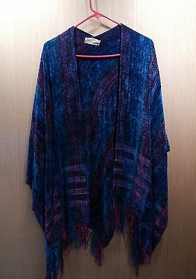 Handwoven Shawl by Kate Nilssen (Taos, New Mexico)
