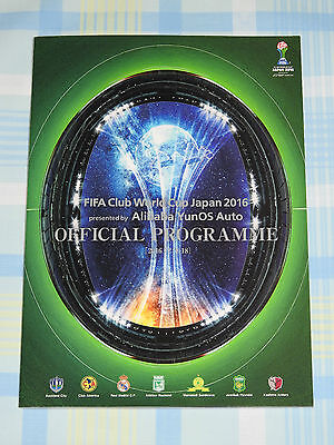 2016 FIFA Club World Cup Tournament Program incl. Real Madrid