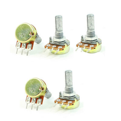 B10K 10K Ohm verstellbar Single linear drehbar Stereo Potentiometer  Poti 5 pcs