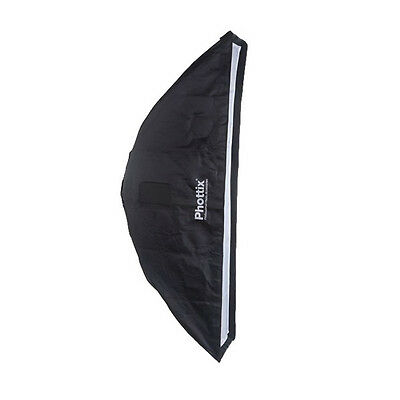 Phottix 2 in 1 Strip Softbox with Grid (14 x 56 In.)