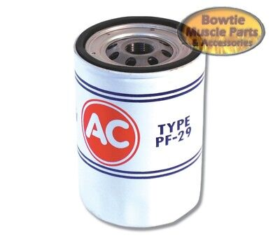 68 69 Chevelle Corvette Camaro 302 350 396 427 Pf29 Ac Pf-29 Oil Filter Correct!