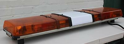 Britax Amber LED Midimax lightbar beacons for recovery van highway rescue 12V