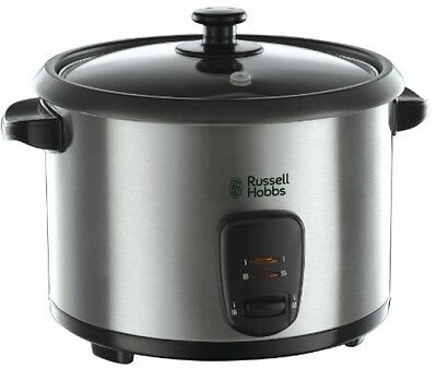 Russell Hobbs 19750 Rice Cooker And Steamer, 1.8 L - Silver