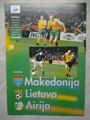 LITHUANIA nat. team in WC EURO & Friendly 1990 - 2013 Constantly updated!