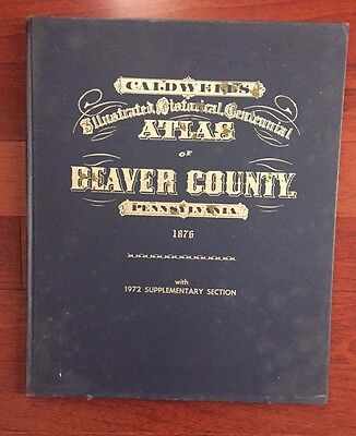 Caldwell Atlas of Beaver County Pa.1876
