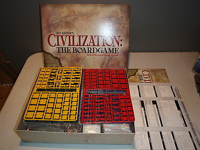 2002 Sid Meier's Civilization The Board Game by Eagle Games