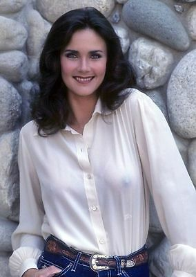 "Lynda Carter Sexy 8"" x 6"" Photo Print  Wonder Woman  Diana Prince"