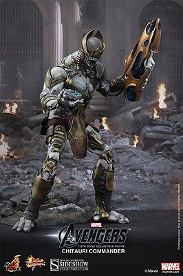 Hot Toys Chitauri Commander 1/6 Figure The Avengers Iron Man SEALED MINT!!