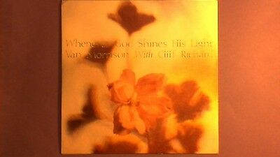"Van Morrison & Cliff Richard - Whenever God Shines His Light (7"") p/s VANS 2"