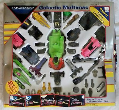 Galactic MULTIMAC 50-pc Galaxy Series Super Space Construction Set TANDY 60-2550