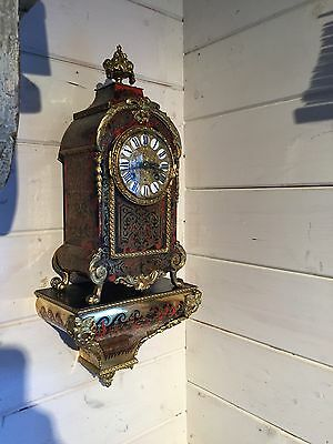 Excellent Original Condition French boulle bracket Clock Untouched Immaculate