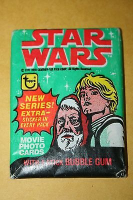 1977 Topps Star Wars Wax Pack
