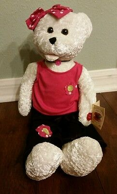 """Chantilly Lane Musical Bear, """"Dream Baby (How Long Must I Dream)"""" New With Tags"""