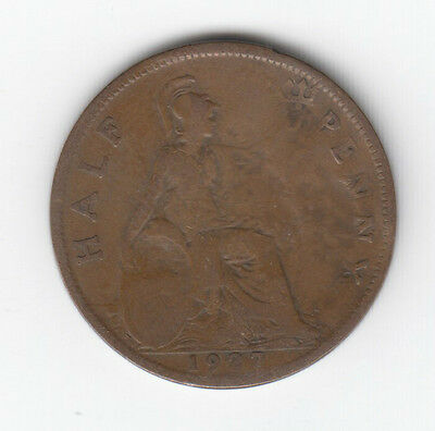 Halfpenny George V choice of date 1911-1936
