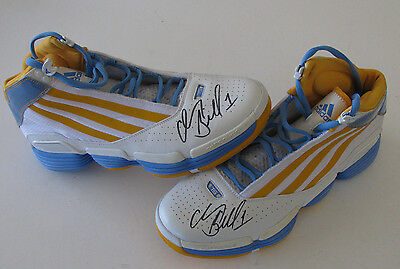 "CHAUNCEY BILLUPS ""Mr. Big Shot"" PE Shoes Auto'd Signed Player Exclusive Sneakers"