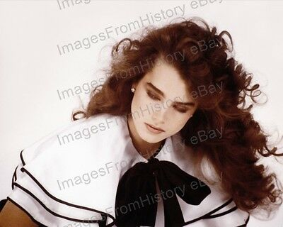 8x10 Print Brooke Shields Beautiful Portrait 1980's #BS17