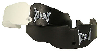 Tapout Adult Mouthguard 2 Pack (Black/White)