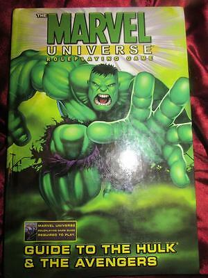 GUIDE TO THE HULK & THE AVENGERS. Marvel Universe Roleplaying Game RPG