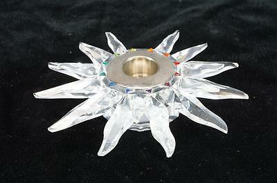 Swarovski Crystal Solaris Candle Holder #2656241 (Flawed, No Box)