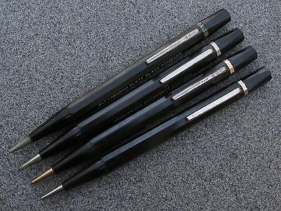 Lot of 4 Vintage 1930's Autopoint Pencils