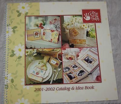 2001-02 Close To My Heart Catalog & Idea Book Stamping Scrapbook Cards  #BK05