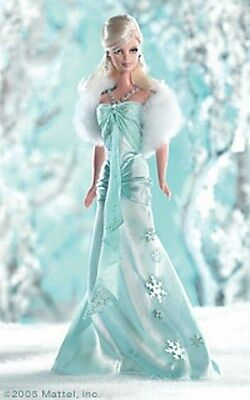 Barbie I Dream Of Winter Silver Label Doll 2005 - New Nrfb