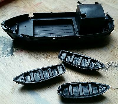 N Gauge Shipwrecked boats (suits faller/bachmann)
