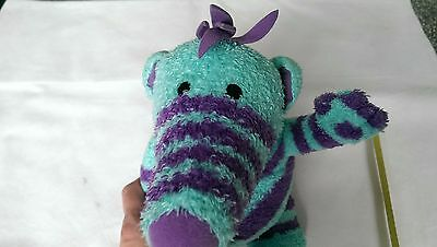 FIMBLES....the fimbles...FLORRIE..large blue & purple soft toy..ABC Kids 2002