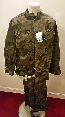 Polish Army shirt with trousers uniform Mk2010 medium shirt/large trousers