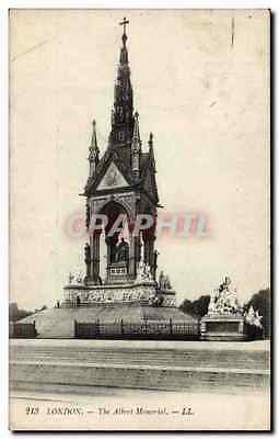 Angleterre - England - London - Londres - The Albert Memorial - CPA