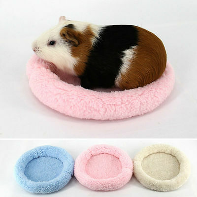 Small Animal Rat Hedgehog Squirrel House Guinea Pig Bed Nest Sleeping Pad Cage