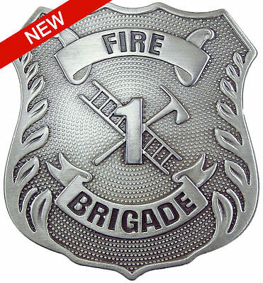 Fire Brigade Old West Badge (Replica)