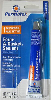 Permatex 80007 Gasket Sealer; Form-A-Gasket (R); Squeeze Tube; 1.5 Ounce; Single
