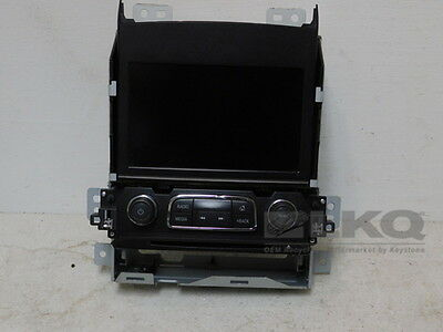 "2014-2016 Chevrolet Impala Radio Control Panel w/ 8"" Touch Screen OEM LKQ"