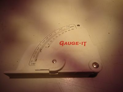 Gauge-it, cabinet maker saw blade angle and height gauge___________________A-294