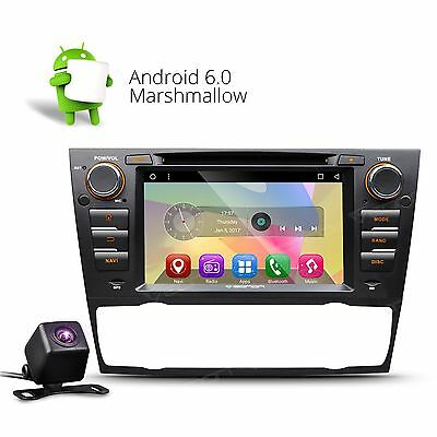 "Camera In Dash Android 5.1 7""Car DVD GPS Player OBD2 3G DAB+ For BMW E90-E93 C"