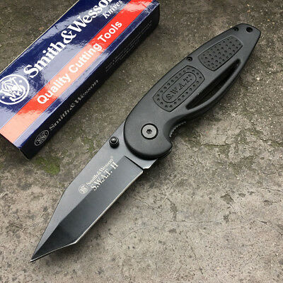 SWAT Camping Tactical Hunting Knife Klappmesser Jagdmesser Messer Smith Wesson